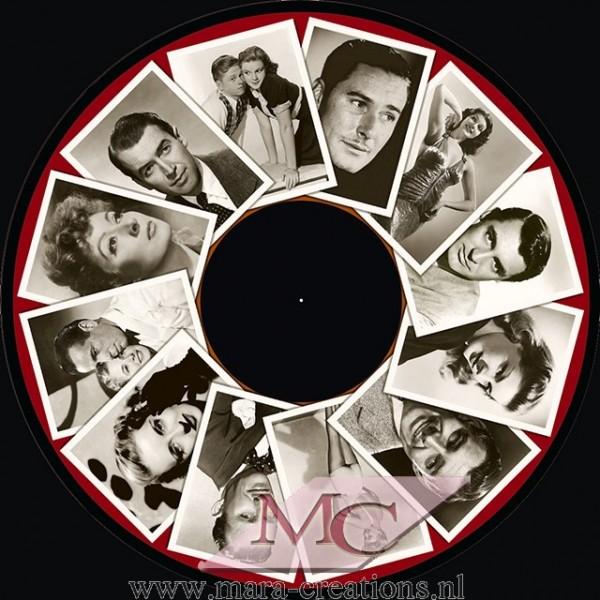 """OPTI- Effectwiel Beeldwiel/Beeldschijf """"1940's FILM STARS"""""""