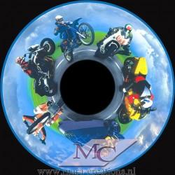 """-OPTI- Effectwiel Beeldwiel/Beeldschijf """"MOTORCYCLES"""""""
