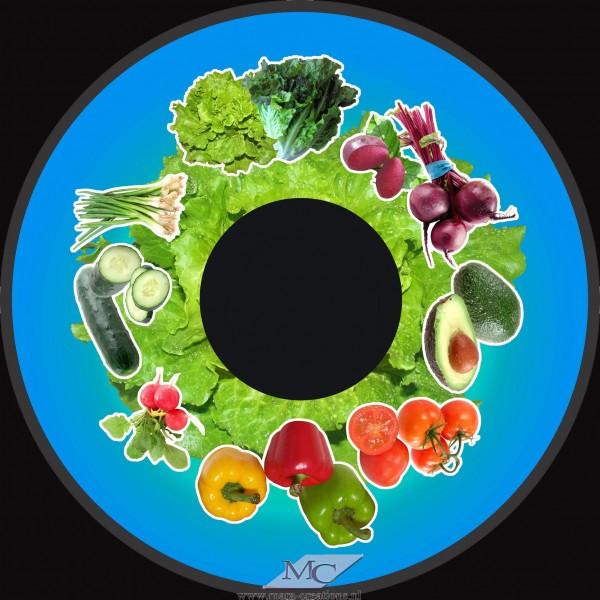 """Effectwiel """"OPTI"""" Beeldwiel/Beeldschijf: SALAD VEGETABLES"""