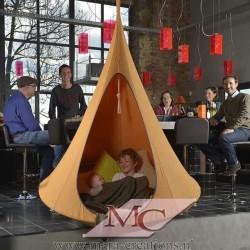 """Snoezel-Tent """"GORTEL"""" kleur: Oranje, Ø 1.50 mtr."""