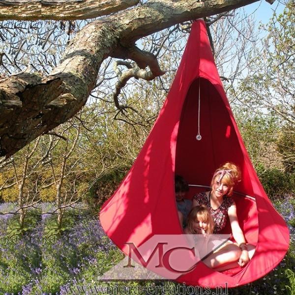 "Snoezel-Tent ""GORTEL"" kleur: Rood, Ø 1.50 mtr."