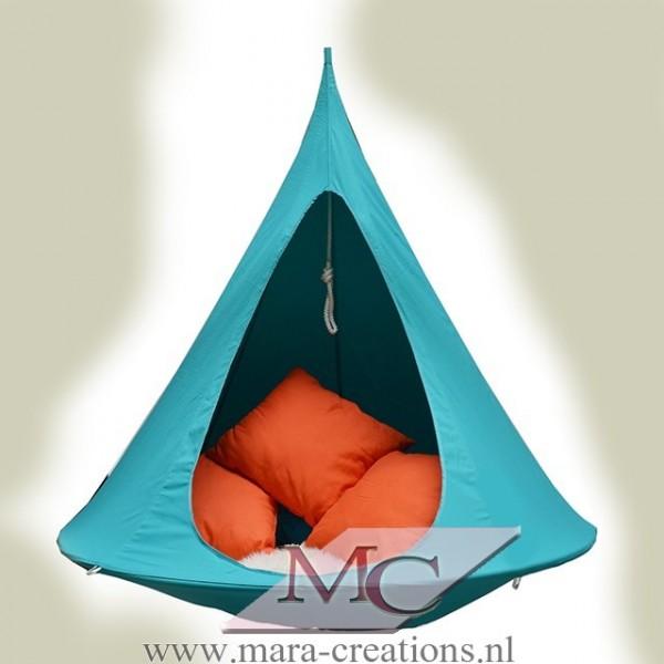 "Snoezel-Tent ""GORTEL"" kleur: Turquoise, Ø 1.50 mtr."