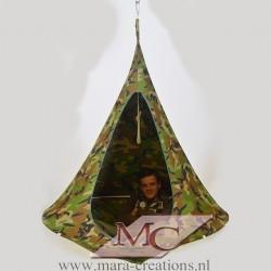 "Snoezel-Tent ""GORTEL"" kleur: Camouflage, Ø 1.50 mtr."