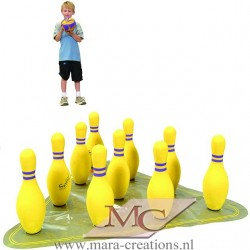 Soft Play KEGELSPEL (YELLOW)